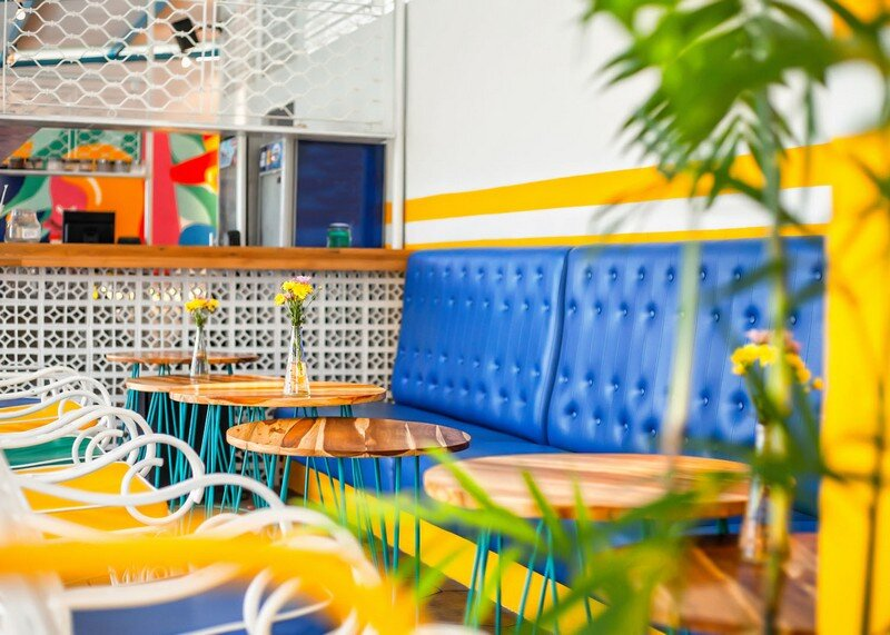 Yelo Eatery - Pop Interiors with Modern Industrial Vibe 8