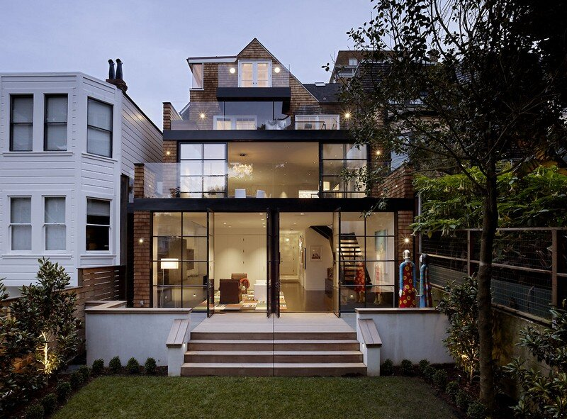 Two Faced House