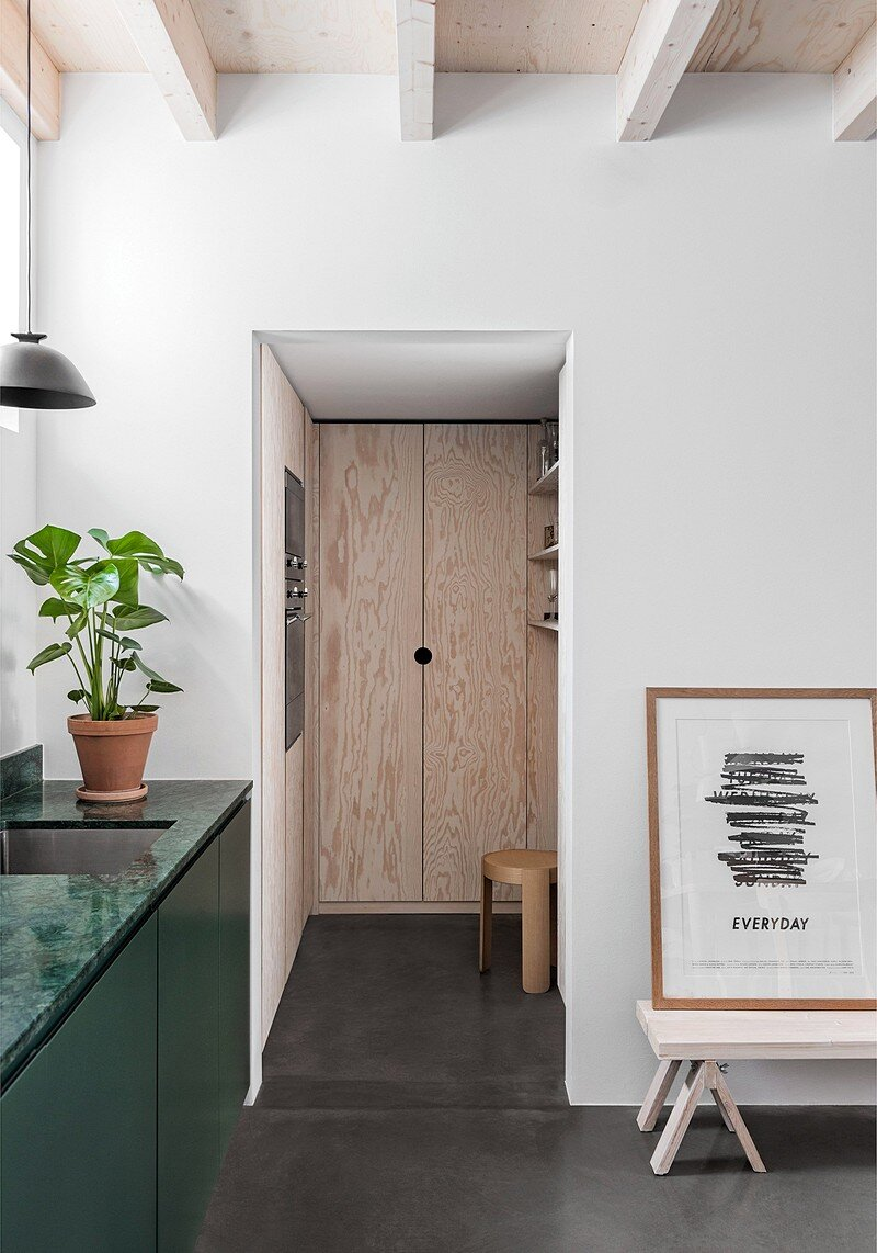 Forstberg Ling Turned an Old Workshop into a Small Home 5