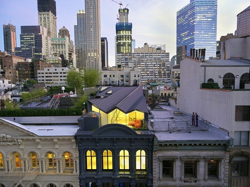 Obsidian House in the Heart of TriBeCa WORKac