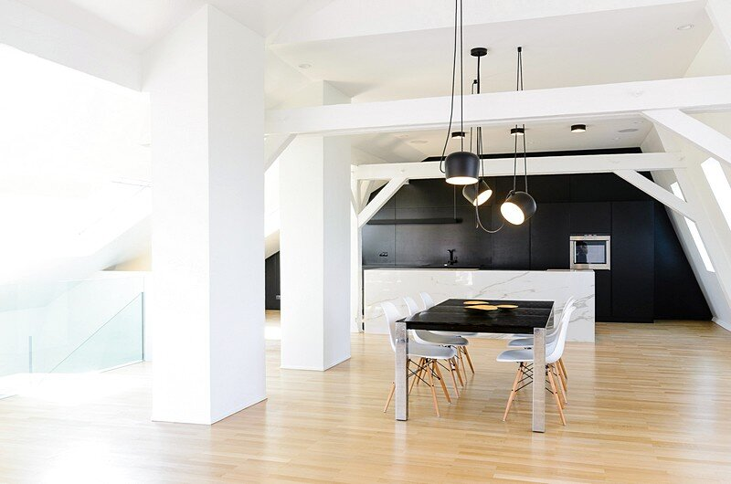 Renovation of a Two Story Attic Apartment 7