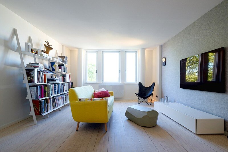 Renovation of a Two Story Attic Apartment 16