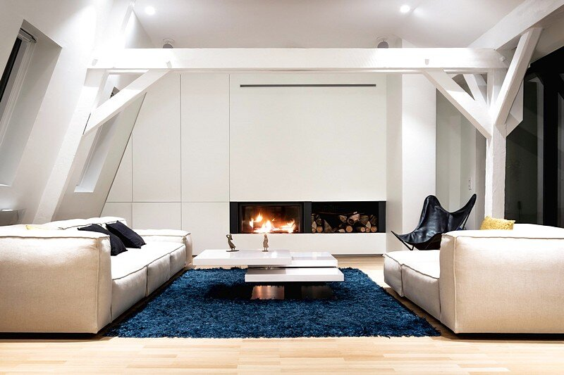 Renovation of a Two Story Attic Apartment