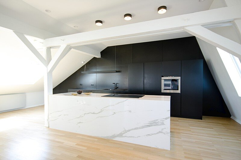 Renovation of a Two Story Attic Apartment 8