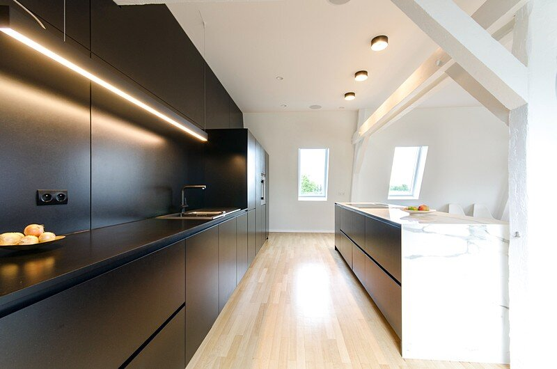 Renovation of a Two Story Attic Apartment 10