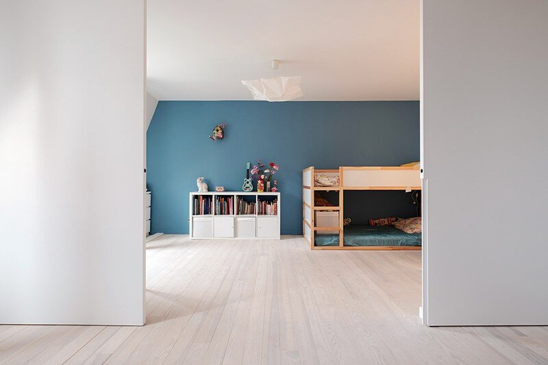 Renovation of a Two Story Attic Apartment 13