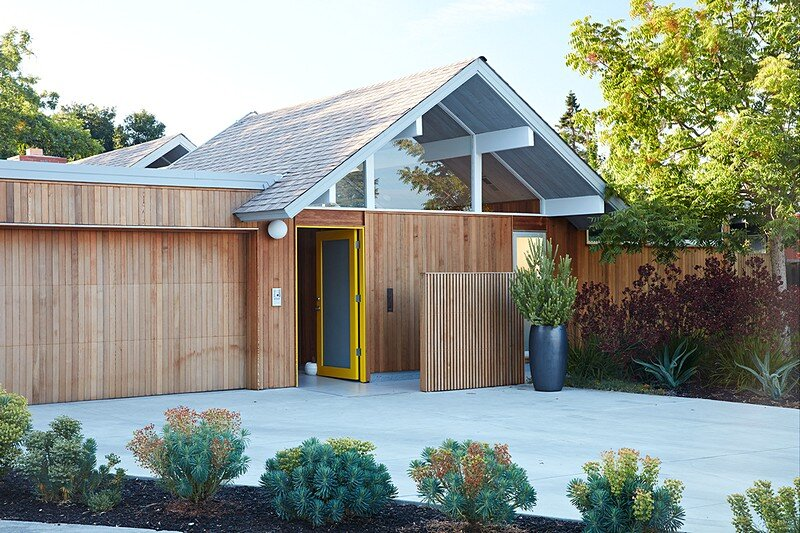 Mountain View Double Gable Eichler Remodel 20