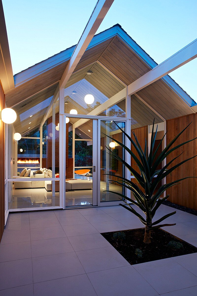 Mountain View Double Gable Eichler Remodel 2