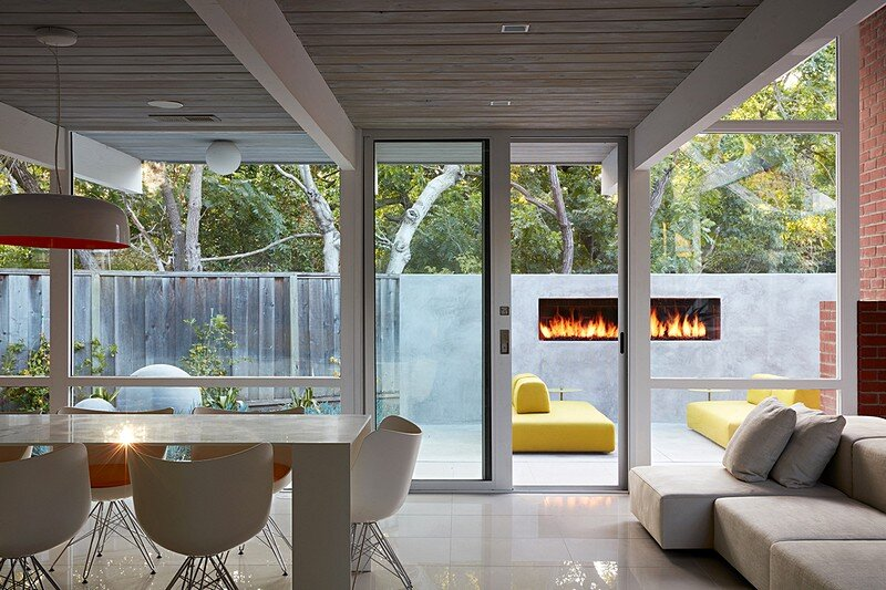 Mountain View Double Gable Eichler Remodel 4