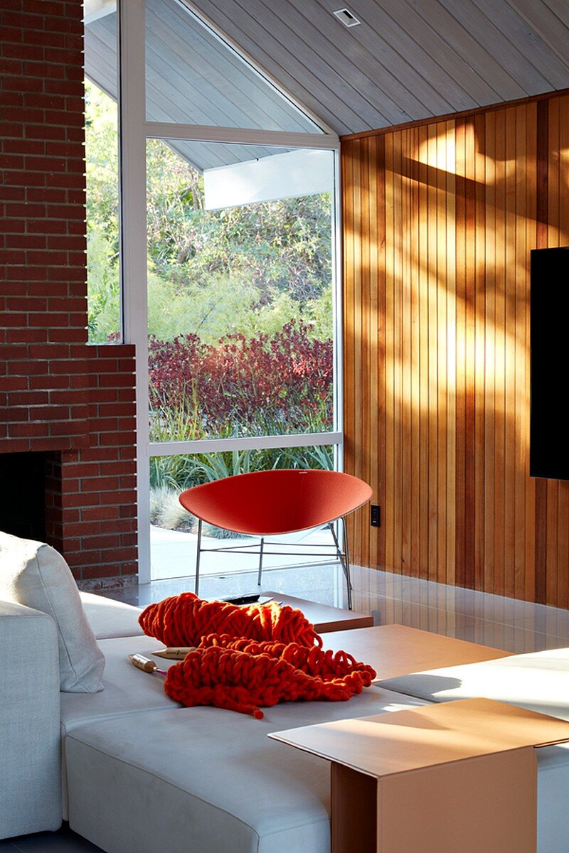 Mountain View Double Gable Eichler Remodel 5