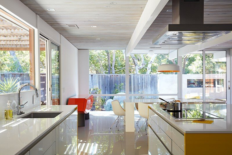 Mountain View Double Gable Eichler Remodel 7