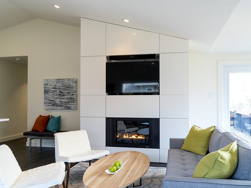 fireplace, Peter Braithwaite Studio