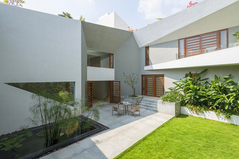 Bangalore Courtyard House 2