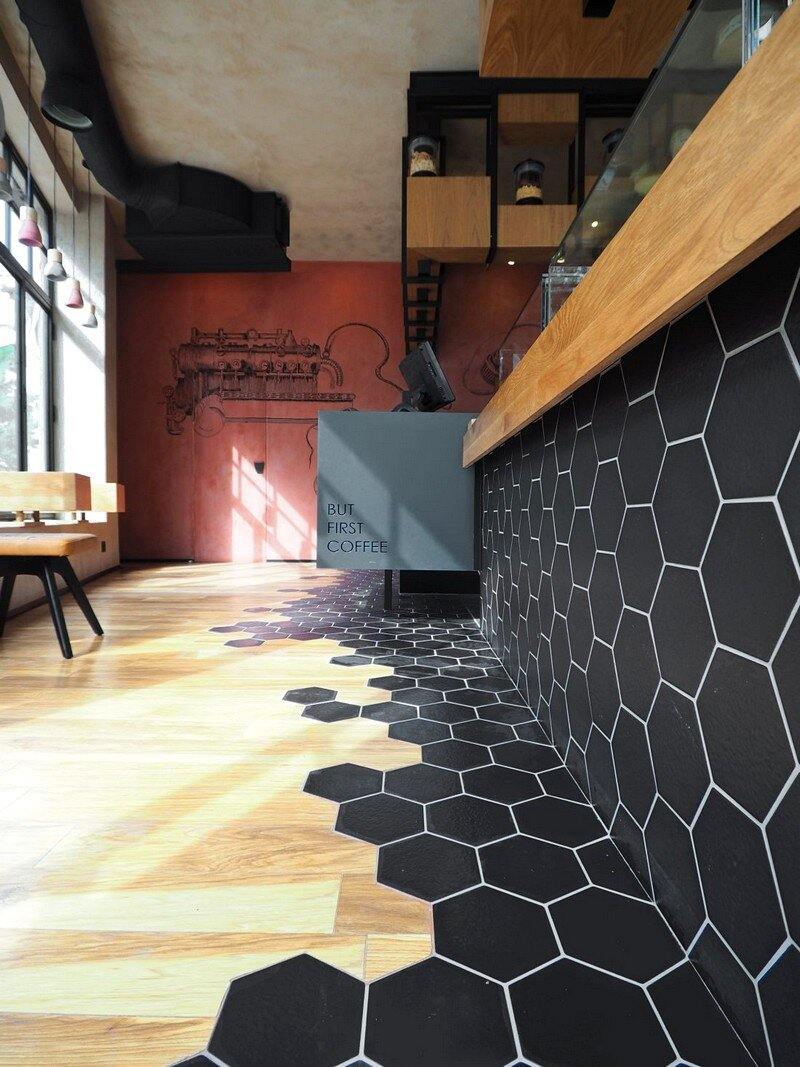 Cups Nine Cafe / Normless Architecture Studio 6