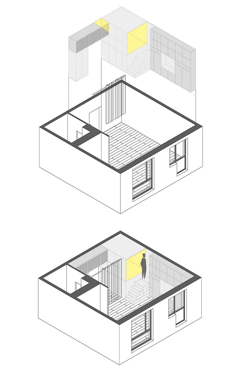Small Flat for a Young Couple 18