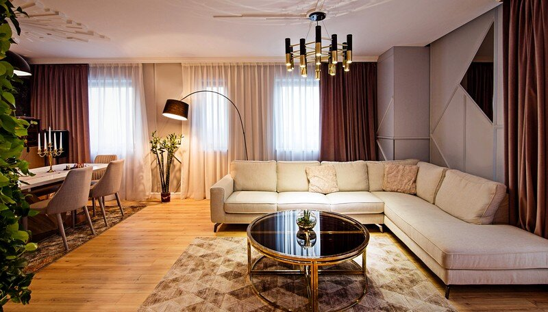 An Elegant Contemporary Style Apartment, The Park Residential Complex 4