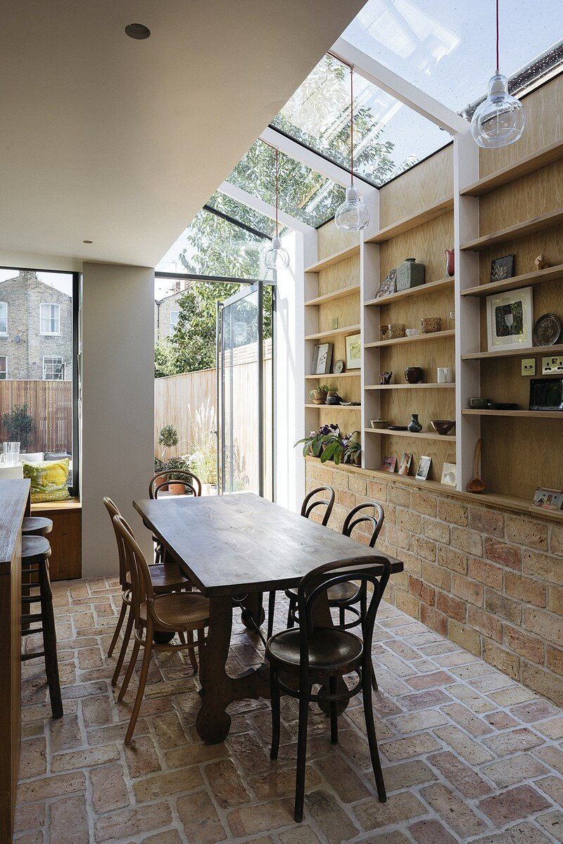 dining room, Neil Dusheiko Architects