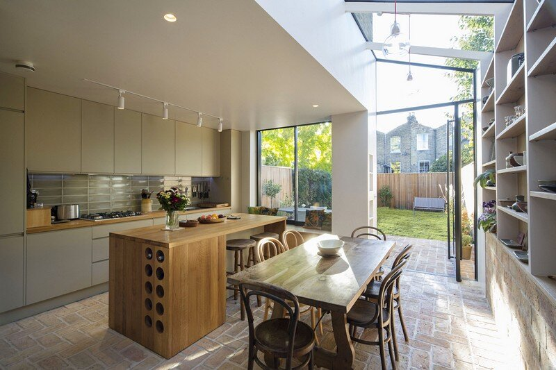 kitchen, Neil Dusheiko Architects