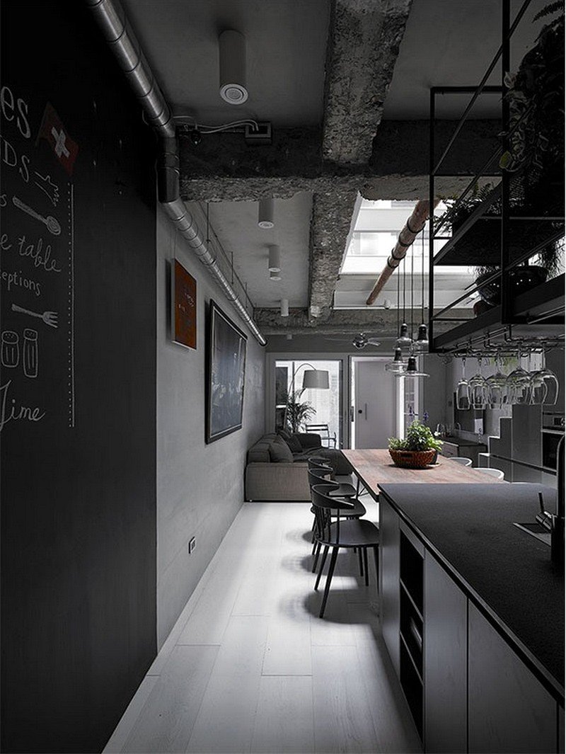 Old Three-Story Townhouse Renovated in Taipei 7