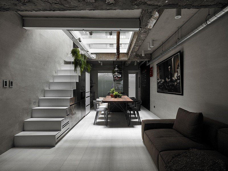 Old Three-Story Townhouse Renovated in Taipei 3
