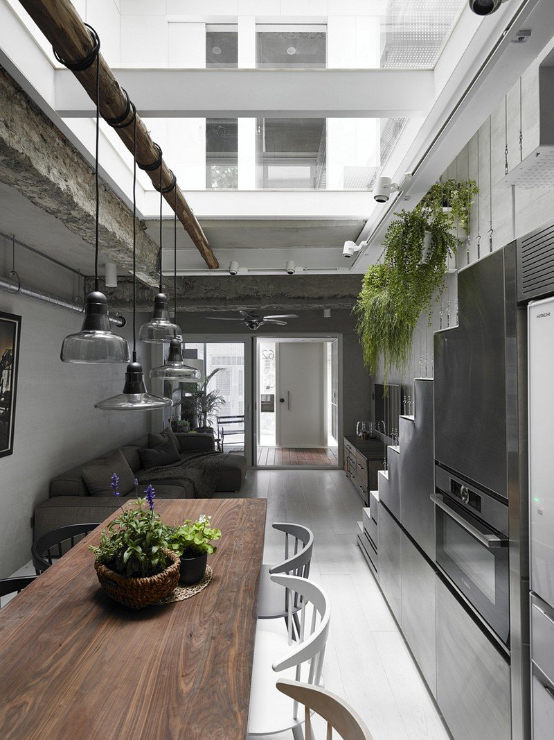 Old Three-Story Townhouse Renovated in Taipei 1
