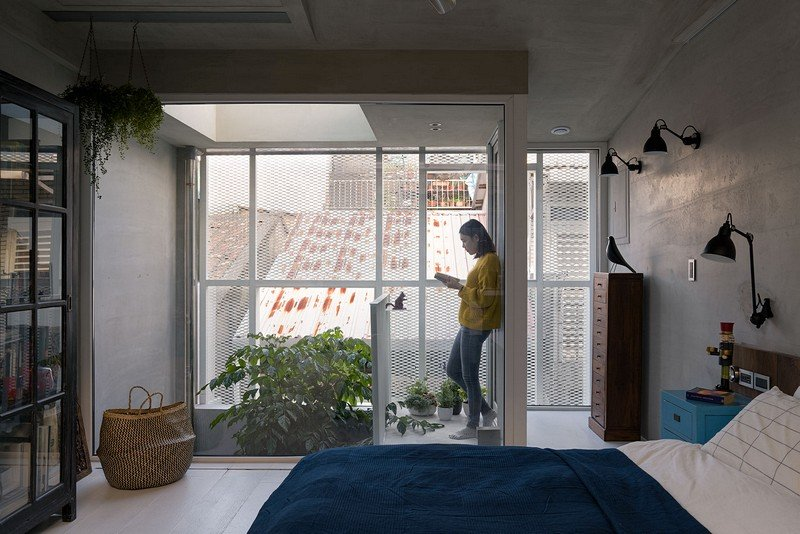 Old Three-Story Townhouse Renovated in Taipei 14