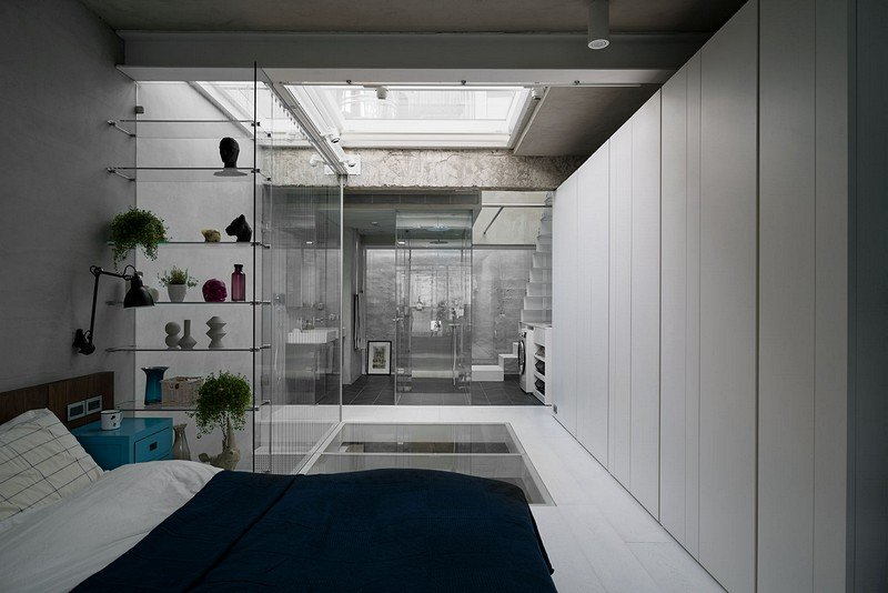 Old Three-Story Townhouse Renovated in Taipei 15