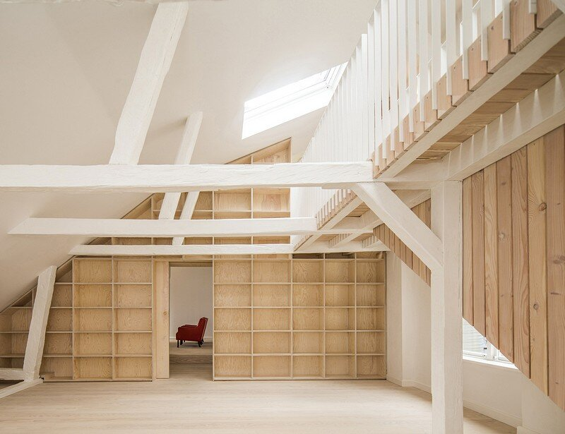 Studiomama Completes Renovation of Apartments in 1720s House 9