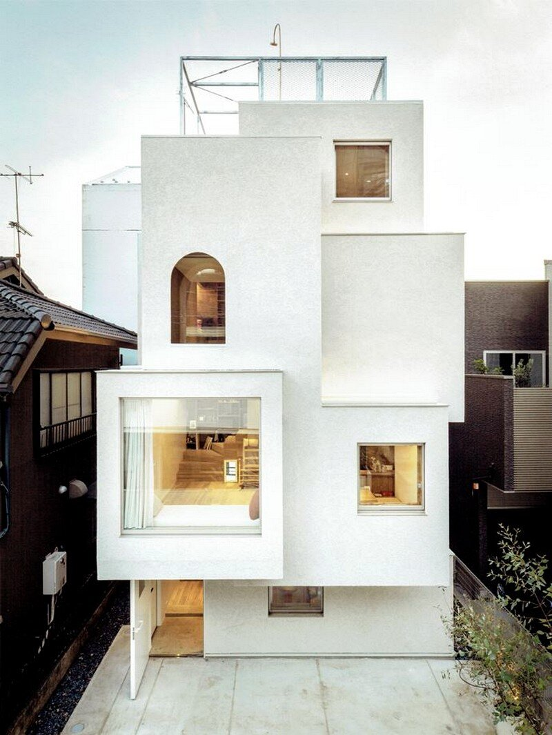 Tokyo City House / Id + Fr Architecture
