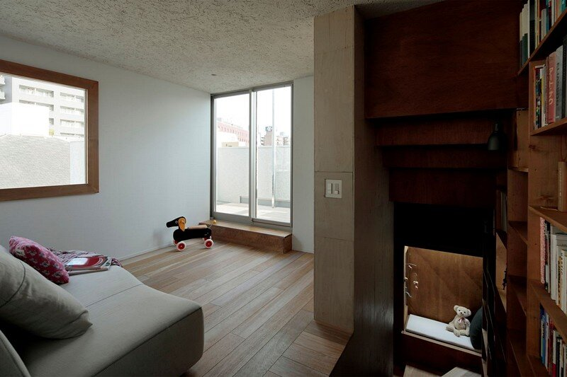 Tokyo City House / Id + Fr Architecture 13