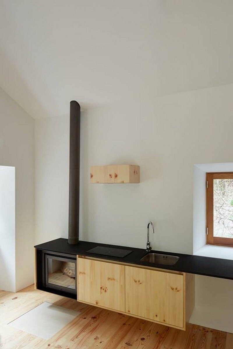 fireplace +kitchen, Bruno Dias Arquitectura