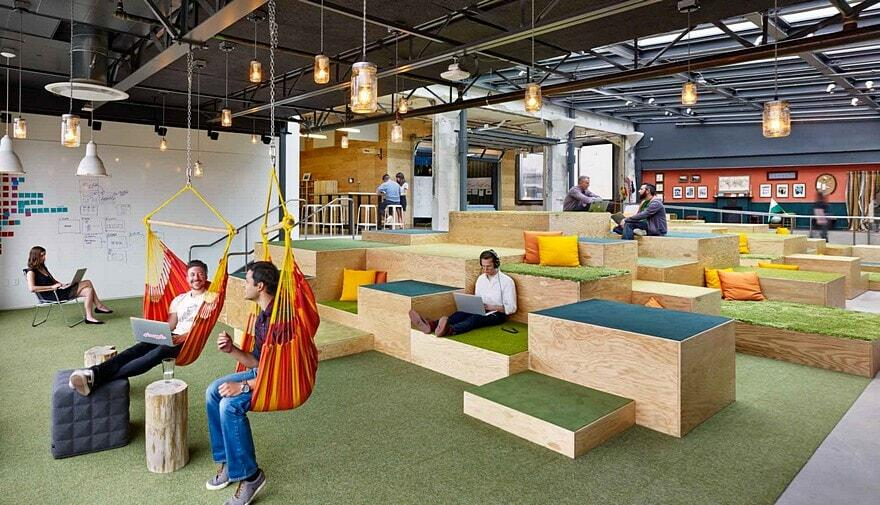Airbnb Headquarters by WRNS Studio 12