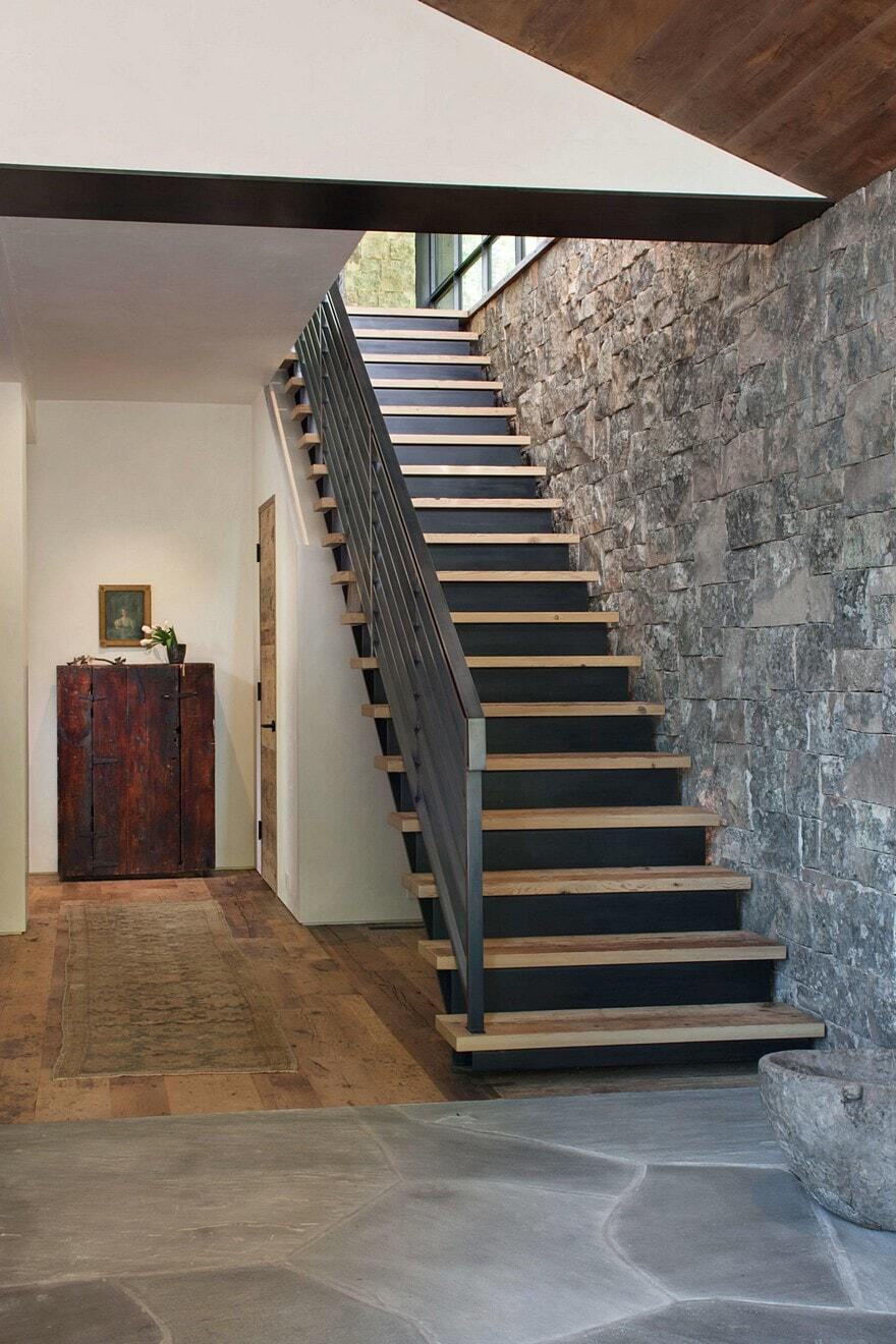 staircase, Miller Roodell Architects
