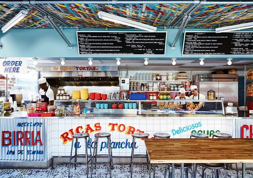 Torteria San Cosme, Mexican Sandwich Shop by +tongtong 2