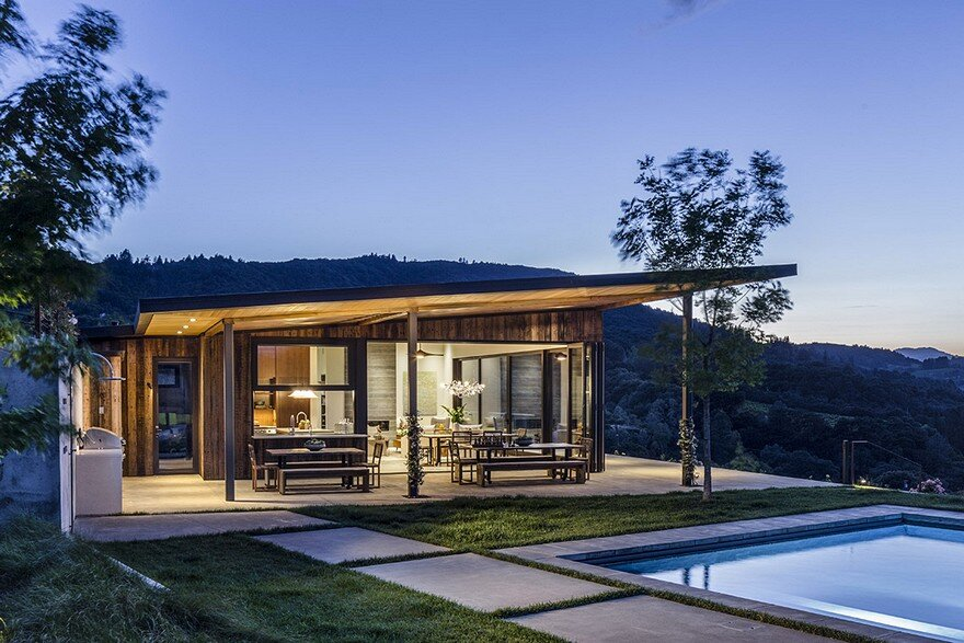 Vineyard House by Sutro Architects and Adeeni Design 20