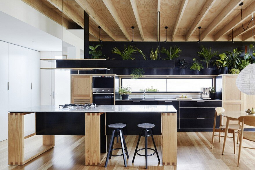Wooden Box House by Moloney Architects 9
