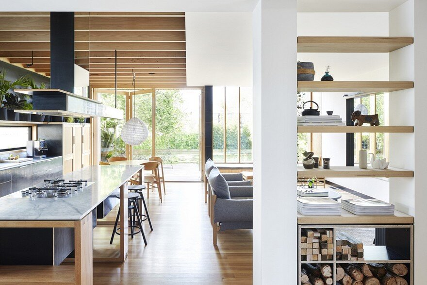 Wooden Box House by Moloney Architects 7