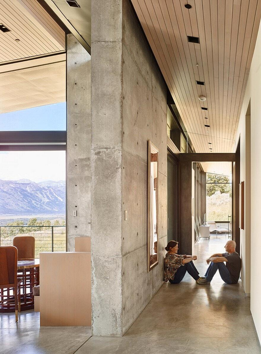 Wyoming Residence by Abramson Teiger Architects 12