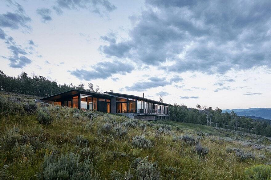 Wyoming Residence by Abramson Teiger Architects 17