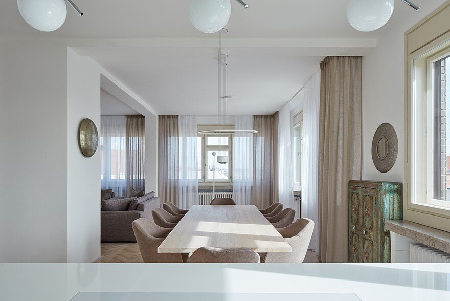 Letna Apartment in Prague by Objectum