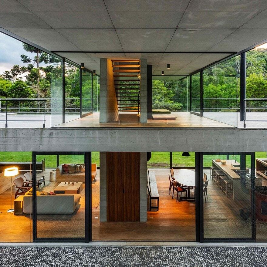 Mantiqueira House by Una Arquitetos 11