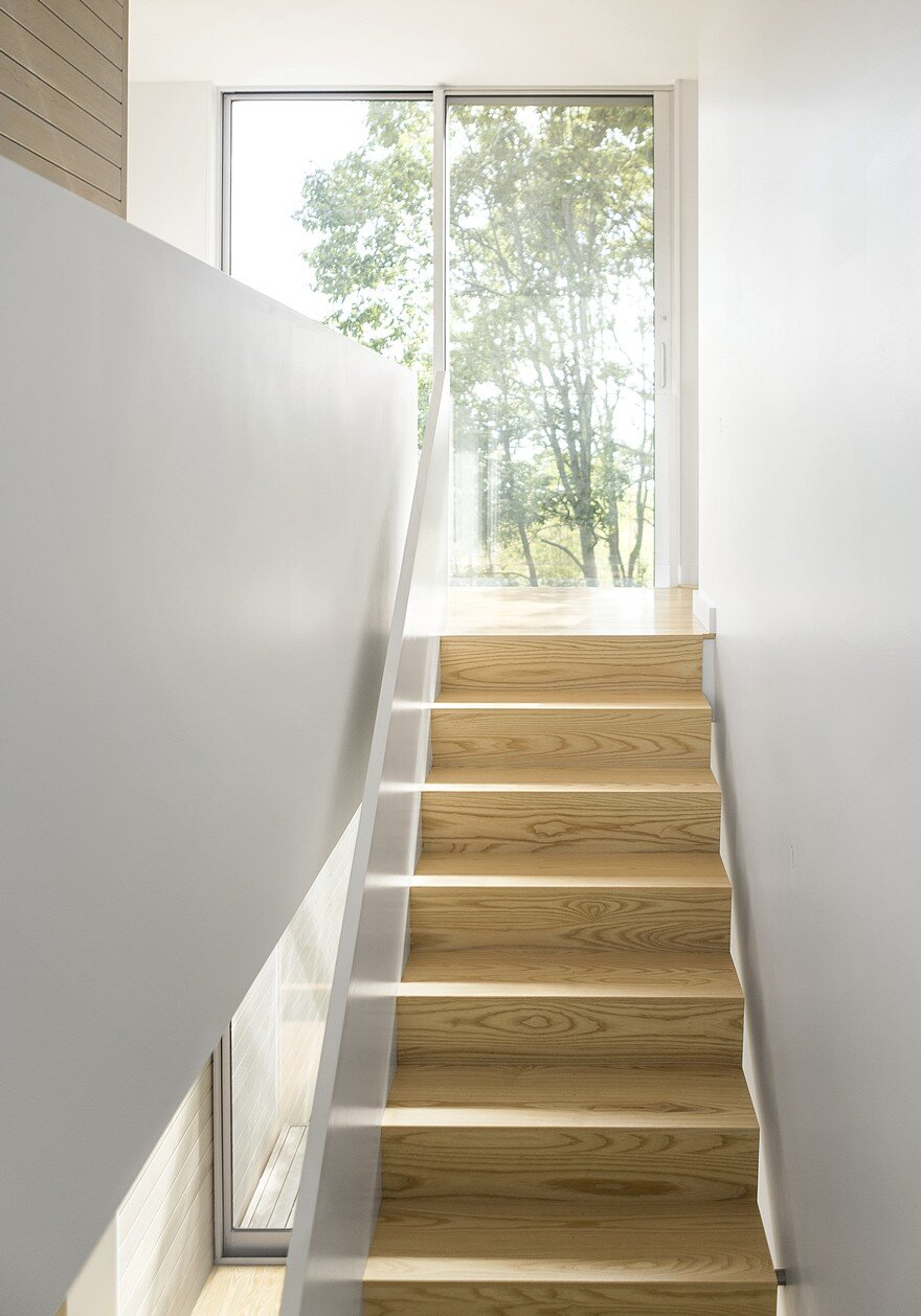 staircase by Carol A. Wilson Architect 9