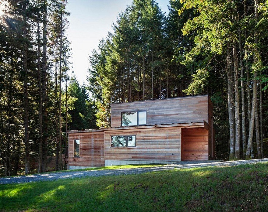 Rainforest Retreat on the Coast of Vancouver Island