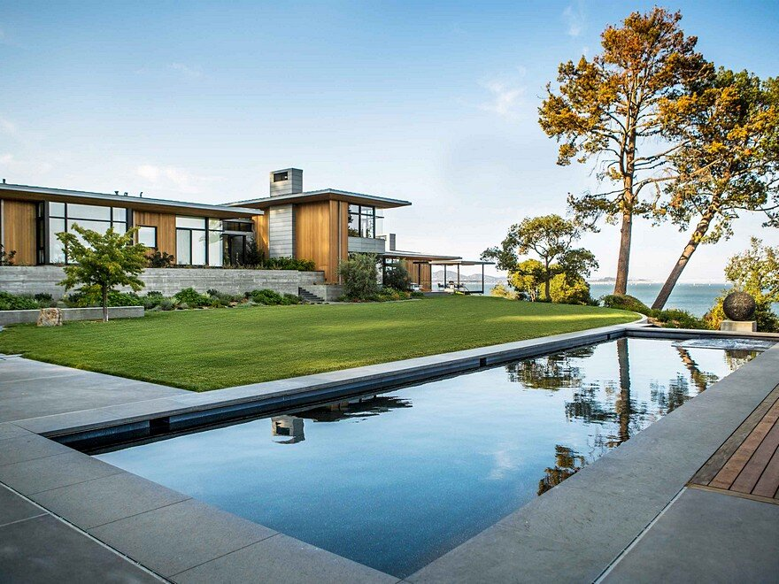 Tiburon Bay View Residence by Walker Warner Architects