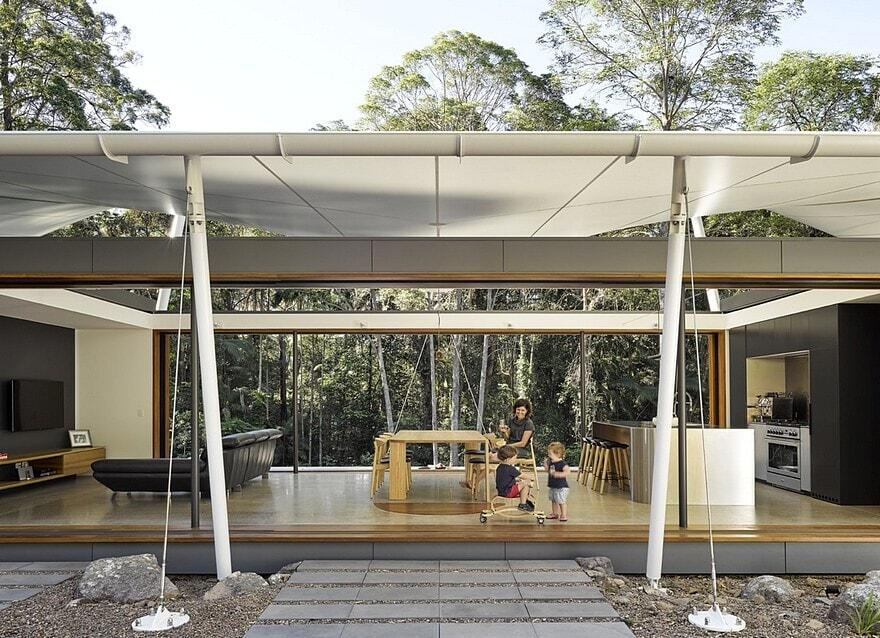 Verrierdale Tent House by Sparks Architects 2