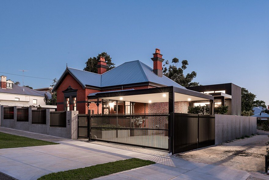 A Heritage House Reborn Through Well Thought Out Design and Cleverly Placed Additions