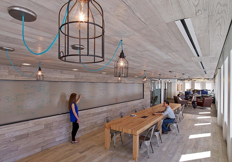 First Office Space for Condé Nast Entertainment Features a Rustic and Industrial Aesthetic 9