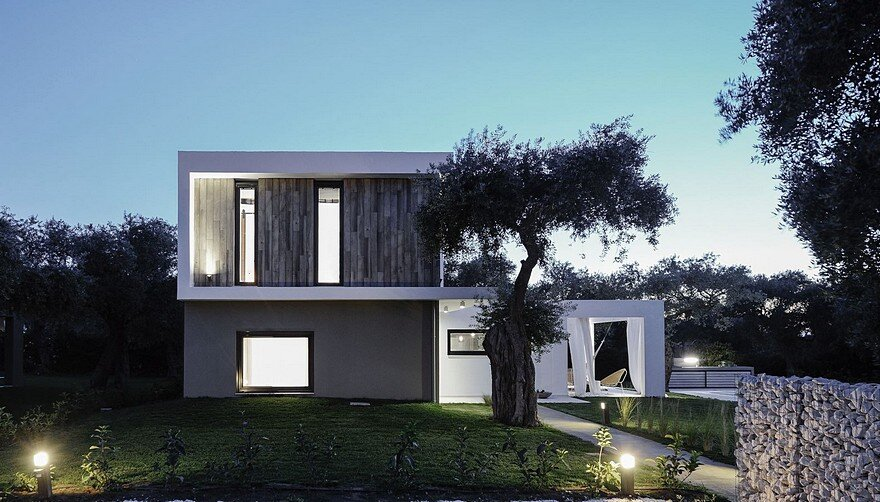 L-Shaped Villa Featuring Large Openings, Clean Surfaces and Bohemian Luxury 20
