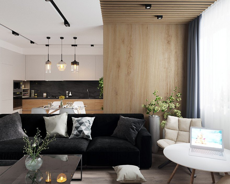 Lviv Duplex Apartment Designed by Leopolis for a Young, Active Couple