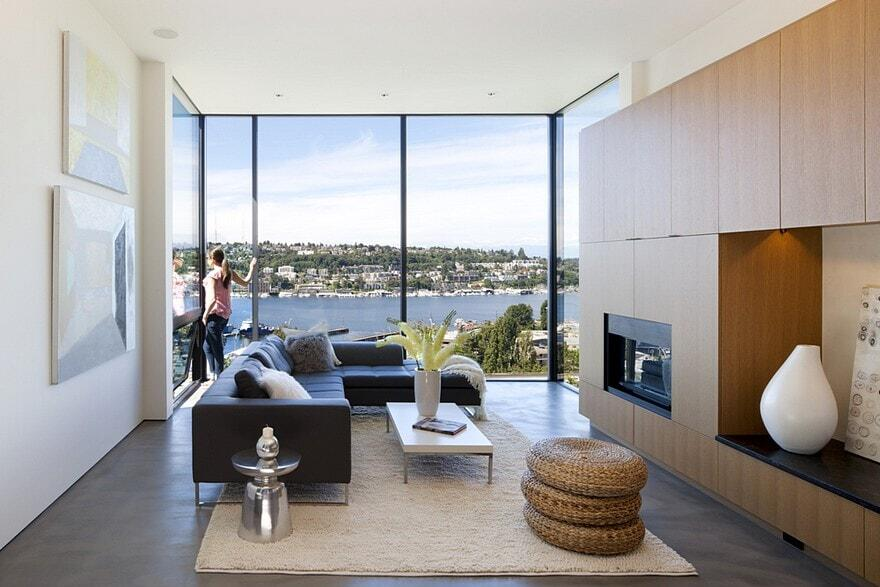 Modern Townhouse in Seattle with Custom Detail and High End Finishes 6